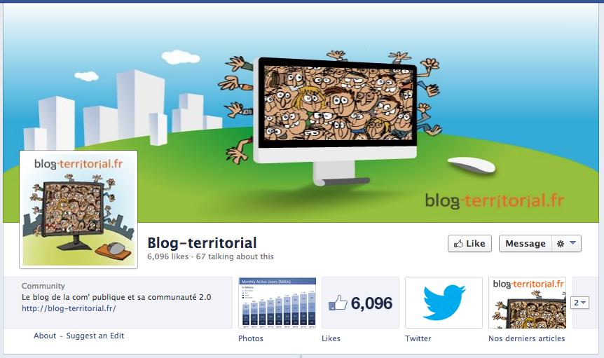 Page Facebook de Blog-territorial